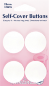 Hemline Self-Cover Buttons - 29mm